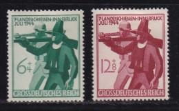 DEUTSCHES REICH, 1944, Unused (no Glue) Stamp(s), Tiroler, MI 897-898, #16201 , - Germany
