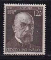 DEUTSCHES REICH, 1944, Hinged Unused Stamp(s), Robert Koch, MI 864, #16188 , - Unused Stamps
