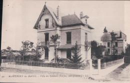 MARTIGNY Les BAINS Villa Des Glaïeuls (Parjas, Entrepreneur) (1928) - France
