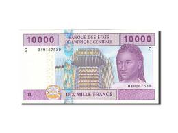 États De L'Afrique Centrale, Tchad, 10,000 Francs, 2002, KM:610C, 2002, NEUF - États D'Afrique Centrale