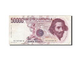 Italie, 50,000 Lire, 1984, KM:113a, 1984, TTB - 50000 Lire
