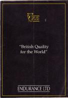 CATALOGO  ENDURANCE LTD - Gran Bretagna