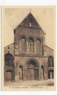 CHALONS SUR MARNE - N° 37 - EGLISE SAINT ALPIN -  CPA NON VOYAGEE - Châlons-sur-Marne