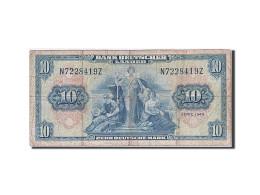République Fédérale Allemande, 10 Deutsche Mark, 1949, KM:16a, 1949-08-22, TB - [ 6] 1949-1990 : GDR - German Dem. Rep.