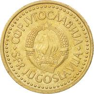 Yougoslavie, 2 Dinara, 1986, SUP, Nickel-brass, KM:87 - Joegoslavië