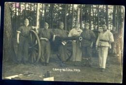 Cpa Carte Photo Du 57 Camp De Bitche 1922  -- Photographe Montag       LIOB27 - Bitche