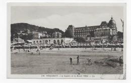 HOULGATE - N° 213 - LE CASINO ET LE GRAND HOTEL - CPA NON VOYAGEE - Houlgate