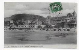 HOULGATE - N° 19 - LE CASINO ET LE GRAND HOTEL - BEAU CACHET - CPA VOYAGEE - Houlgate