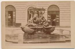 F1 Photo - ITALIE - ROMA - Piazza Mattei - Fontana Delle Tartaruche - Anciennes (Av. 1900)