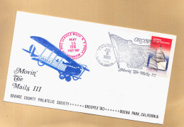 FDC 1980 - MOVIN THE MAILS III - ORCOPEX 80 - Timbres