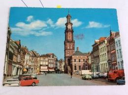 Nederland Zutphen . Groenmarkt Met Wijnhuistoren ( Auto Voiture Car ) 1968 - Zutphen