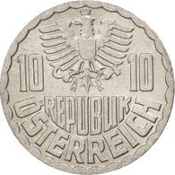 Autriche, 10 Groschen, 1972, Vienna, SUP, Aluminum, KM:2878 - Autriche