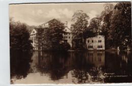 Meiningen - Teich Im Englischen Garten Mit Landestheater - Meiningen