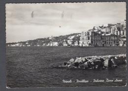 1955 NAPOLI POSILLIPO E PALAZZO DONN'ANNA FG V SEE 2 SCANS - Napoli