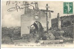C P A  -  OLLIOULES  Chapelle Gothiue Oratoire XIII Siecle - Ollioules