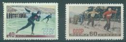 URSS - 1952 - MLH/* - WINTER SPORT - Mi 1619-1620 Yv 1602-1603 - Lot 13773 - 1923-1991 USSR