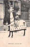 PREFAILLES -  Cavalcade De 1907 - (Femme A Cheval) - Carte 5 - Préfailles