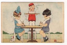 Chicky Spark.Illustrateur.Enfants.Dinette.Scans Recto Verso. - Spark, Chicky