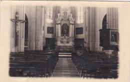 Lille Sint-Pieters-Lille Fotokaart Binnenzicht Kerk - Lille