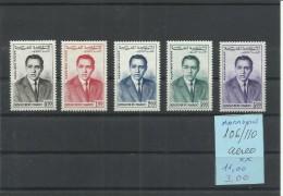 MARRUECOS YVERT AEREO 106/10 MNH  ** - Marruecos (1956-...)