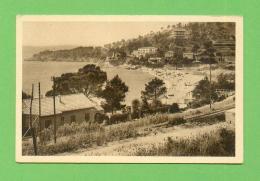 CPA  FRANCE  83  ~  LE LAVANDOU  ~  5  La Plage D'Aiguebelle  ( Lugon 1940 F.M. ) - Le Lavandou