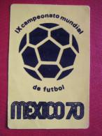 FOOT - MEXICO - MONDIAL 1970 - SIMBOLO CAMPEONATO MUNIAL MEXICO 70 - - Football