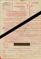 Banque Nationale De Belgique - Bureau Auxiliaire De Pont-à-Celles - Déclaration Valeurs Mobilières à L'Etranger   (4157) - Aandelen
