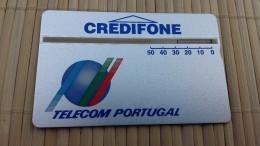 Landis & Gyr Portugal 50 Units 149 F  Used Rare ! - Portugal