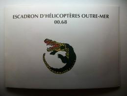Carte Postale Escadron D'Hélicoptères Outre-Mer 00.68 (véritable Photo) (correspondance 1993) - Reggimenti