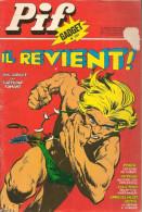 Pif Gadget N° 357 De Déc 1975 - Avec Rahan, Placid & Muzo, Loup Noir, Amicalement Vôtre, Arthur, Horace. Revue En BE - Pif & Hercule