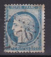 CERES N° 60 CACHET GC 2676 INDICE 9 - 1871-1875 Ceres