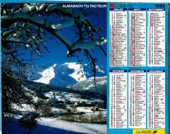 ALMANACH DES P.T.T 1993 (57)   -  Complet ** ETE DANS LES ALPES - COMBLOUX (74) ** Calendrier * JEAN LAVIGNE * - Calendriers