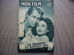 MON FILM N° 415 DU 4-8-54 ALAN LADD ET PATRICIA MEDINA DANS LES BAGNARDS DE BOTANY BAY - Kino