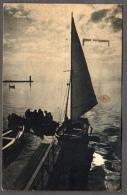 1950 BARI TRAMONTO FP V SEE 2 SCANS TARGHETTA MOTTA - Bari