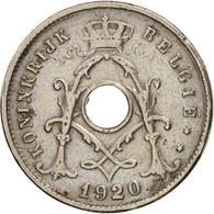 Belgique, 5 Centimes, 1920, TTB, Copper-nickel, KM:67 - 1865-1909: Leopold II