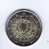 Malta - 2 Euro Commemorativo 2015 - Bandiera - Malta