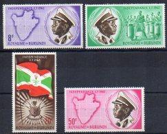 Burundi 26 à 34** Indépendance - 1962-69: Ungebraucht