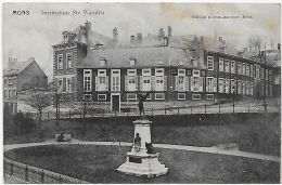 26561g  INSTITUTION Ste-WAUDRU - Mons - 1912 - Mons