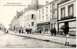 Le Merlerault - Grande Rue Et Place De L'Hôtel De Ville - Le Merlerault