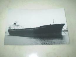 """Photographie De Bateaux Le """" TRICULA 1981 """"  SHELL BR  N° 34 -DD9 - Commerce"""