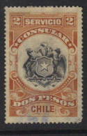 Chile Revenue - Consular 2 Pesos - Chili