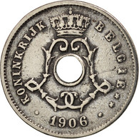 Belgique, 5 Centimes, 1906, TTB, Copper-nickel, KM:55 - 03. 5 Centimes