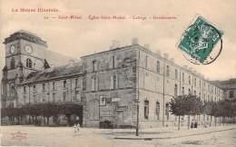55 - Saint-Mihiel - Eglise Saint-Michel, Collège, Gendarmerie - Saint Mihiel