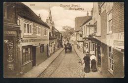 GODALMING -SURREY- Church Street  - Recto Verso- Paypal Free - Surrey