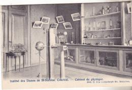 Belgique- COURTRAI- Institut Des Dames De St Nicolas. Cabinet De Physique.édit Van Cortenbergh. Non Circulée Tb état. - Enseignement, Ecoles Et Universités