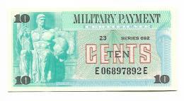 MILITARY PAYMENT CERTIFICATE - 10 CENTS 1970 UNC / SERIE 692 - Certificati Di Pagamenti Militari (1946-1973)
