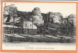 SAINT MIHIEL  (cpa 55)  Les Rochesou Dames De La Meuse - - Saint Mihiel