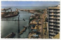 LL , 62 , BOULOGNE-SUR-MER , Quai Gambetta Et Buildings , écrite 1957 , N°107 , Ed: Editions Du Globe - Boulogne Sur Mer