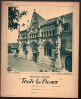 Protege Cahier TOUTE LA FRANCE  Savoie Abbaye De Hautecombe + Autres Photos D'autres Régions (PPP2727) - Carte Assorbenti
