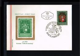 1970 - Austria FDC - Flags, Arms & Seals - City/town Arms - Kärnten [FB178] - FDC